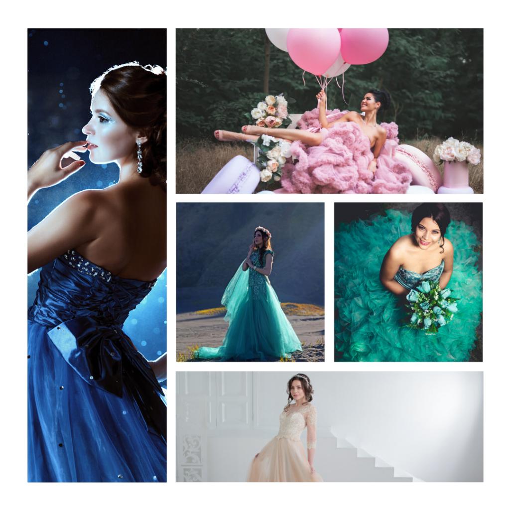 Ideas para aprovechar tu vestido de XV años.