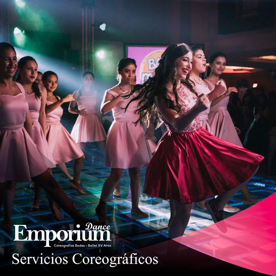 Servicios coreograficos profesionales para fiestas de xv años Emporium. Fiesta de xv años tradición o diversión.